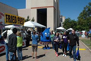 Earth Day Dallas had excellent weather for the crowds outdoors with great food as well.
