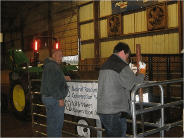 "panels for ""Safe Tractor Drive Contest� at the FFA Ag Day"