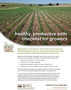 PA Soil Quality Assessment