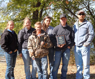 Lamar County's first place team.