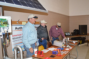 Mullen and Son's presented information on solar pumps.