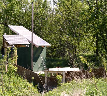 Monitoring Station, Williston Cattle Company, Williston Vermont