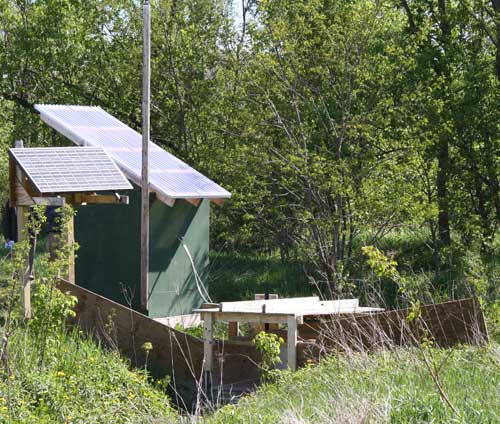 Whitcomb Water Quality Monitoring Station, Williston Vermont