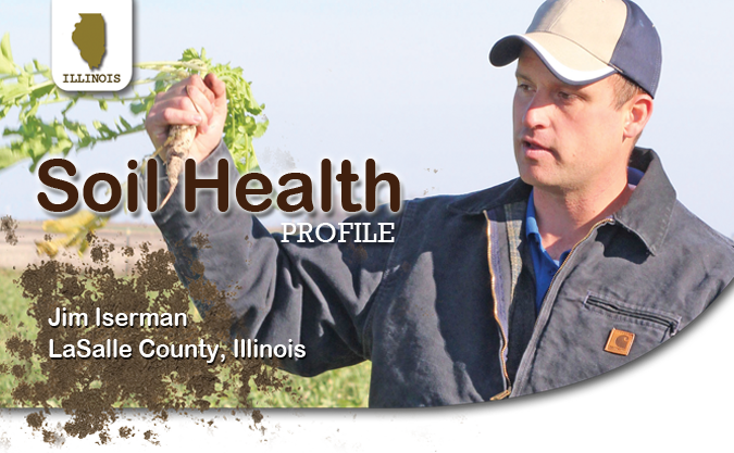 Soil Health Profile Producer Jim Iserman