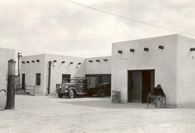 Tucson PMC buildings in the 1930s