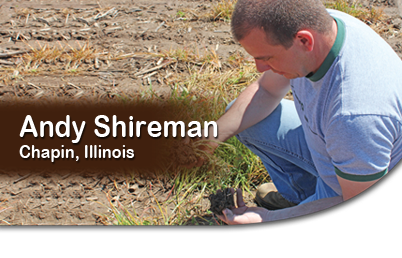 Andy Shireman, Catlin, Illinois