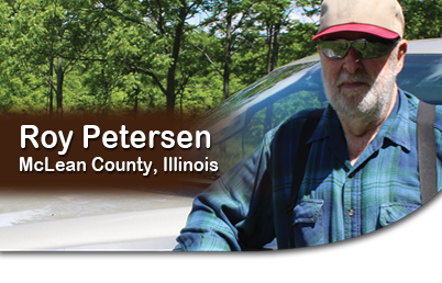 Roy Peterson, McLean County, Illinois