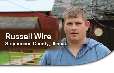 Russell Wire, Stephenson County, Illinois