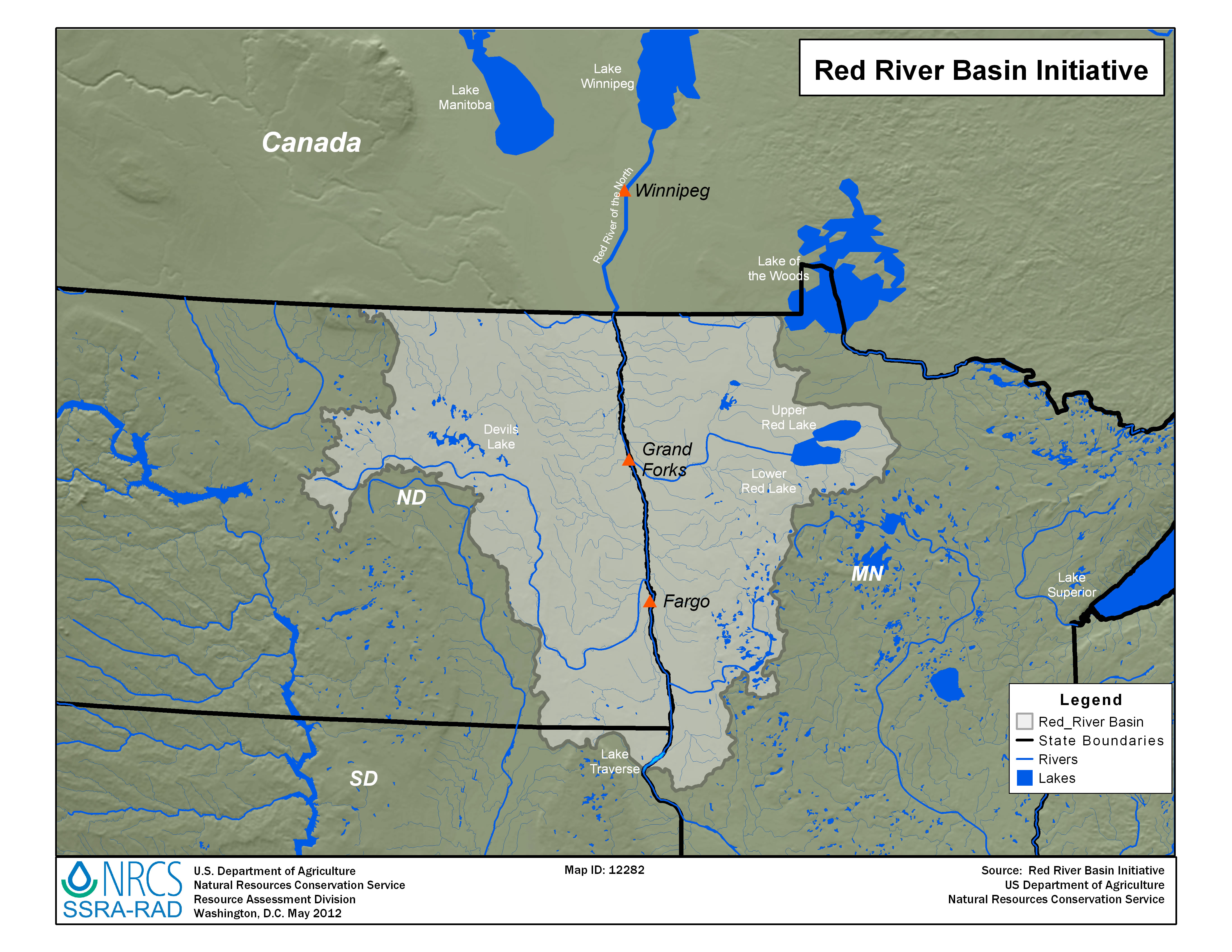 Whitehouse Red River Basin Initiative Nrcs
