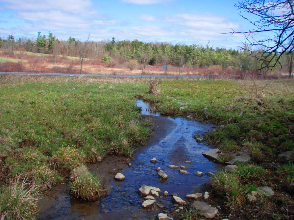 Before working with NRCS, livestock were given full access to this small stream