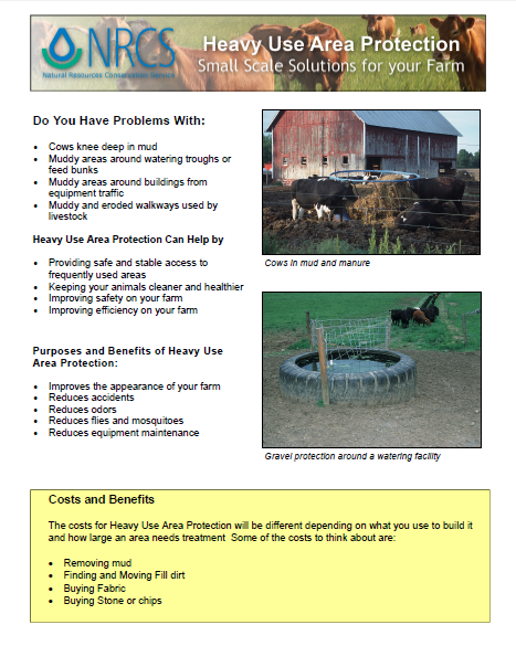 Livestock -Heavy Use Area Protection