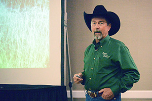 Rancher Kit Pharo talked about building a low input cow herd to increase profits.