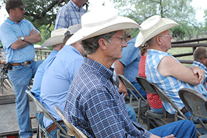Area ranchers enjoyed learning cattle handling techniques that can increase their bottom line.