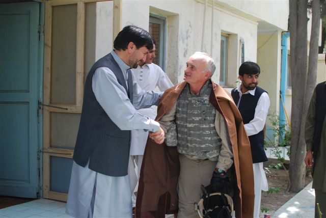 Mr. Lively and Govenor of Khost