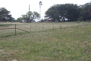 Water development and cross fencing has distributed livestock grazing to allow recover of rangeland between grazing periods.