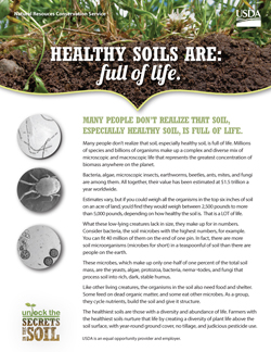 Healthy soils are fact sheets nrcs for Full form of soil