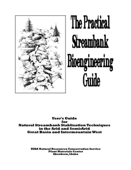 Cover of the Streambank Bioengineering Guide