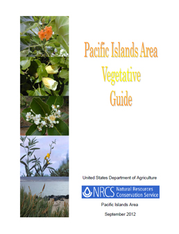 Cover of Pacific Islands Area Vegetative Guide