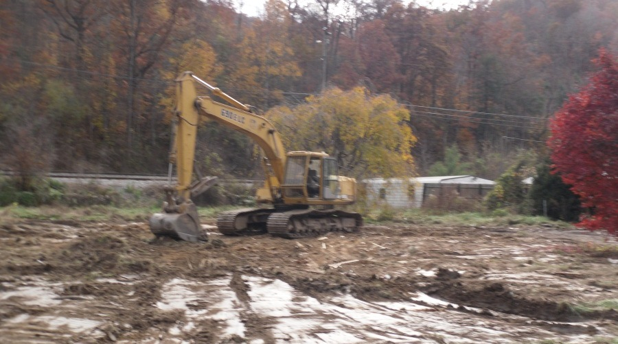 Pike County site where restoration will begin.