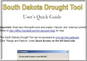 Drought Tool Instructions