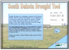 SD Drought Tool