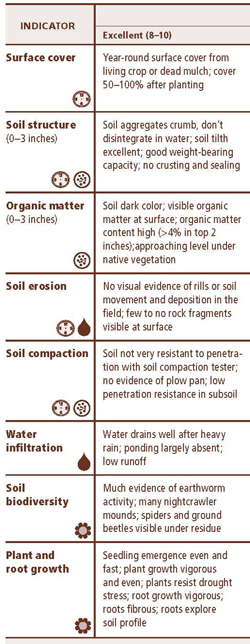Soil health card nrcs soils for Soil quality pdf