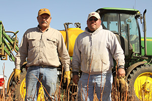 The Heinrichs have requested technical and financial assistance from NRCS through EQIP.