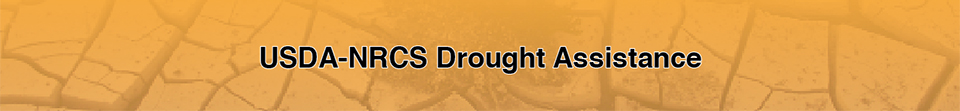 USDA-NRCS Drought Assistance