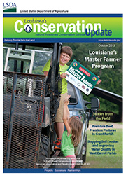 October 2013 Conservation Update Cover