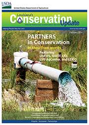 February 2014 Conservation Update Cover