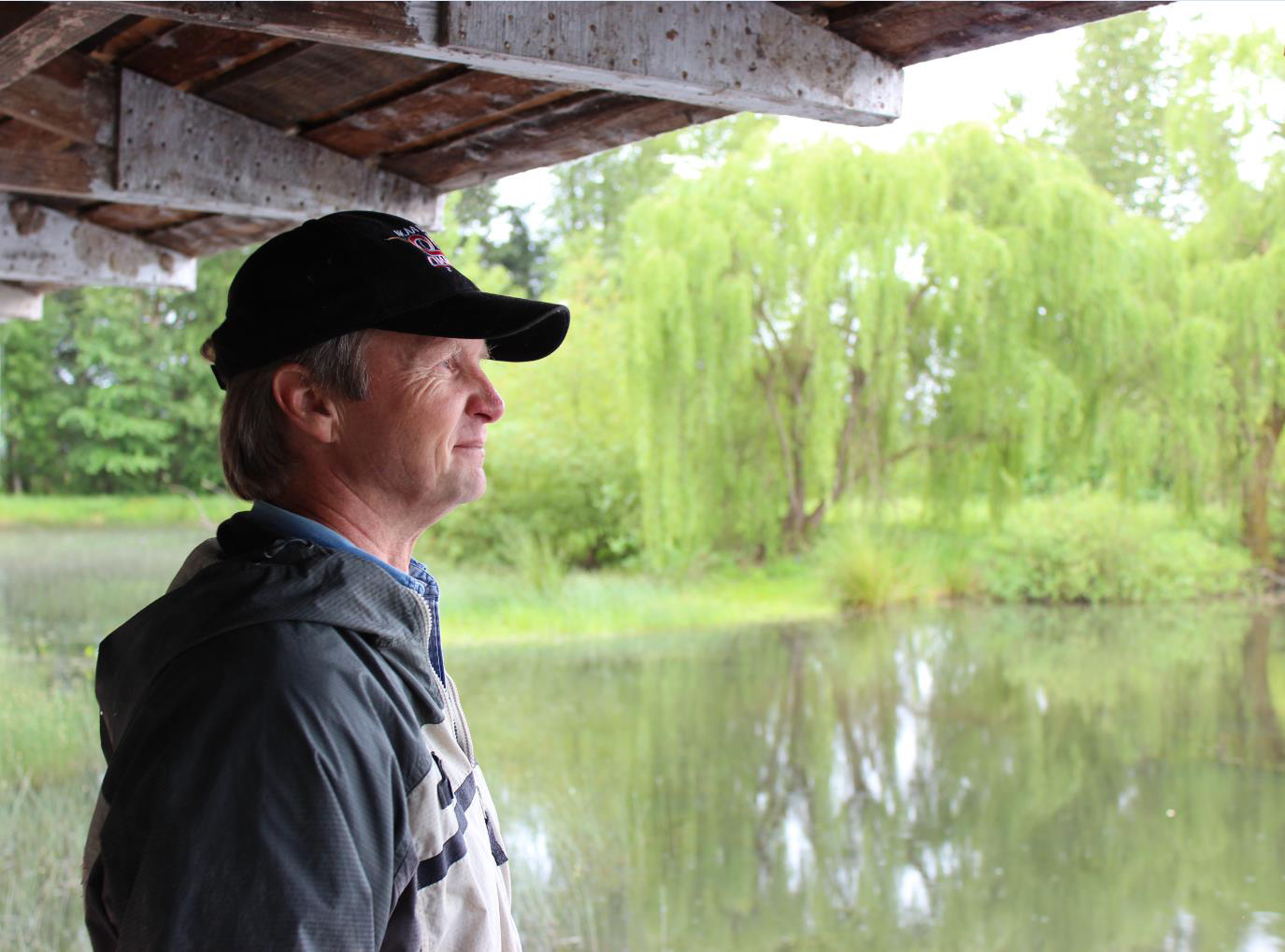 Oregon landowner Dave Budeau said he dreamed of protecting wetlands. An NRCS-led conservation partnership helped Budeau restore and enhance these wetlands, providing habitat for native fish and birds.