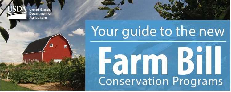 Your Guide to the New Farm Bill Conservation Programs