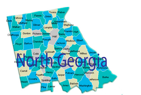 Click on the picture to go to the Naional Locator for North Georgia.