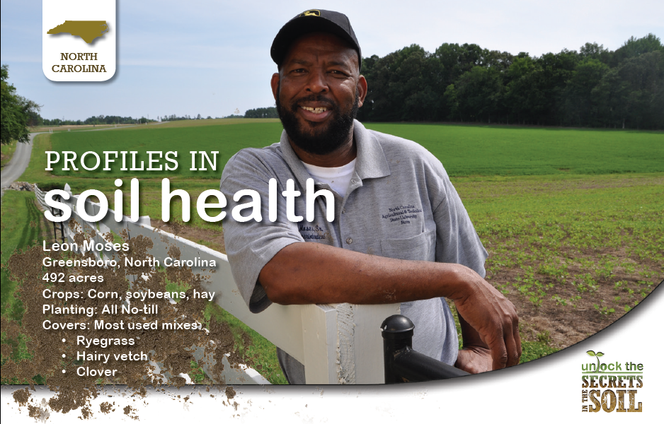NC Soil Health Landowner Leon Moses
