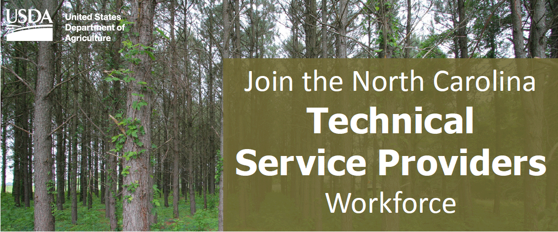 Join the North Carolina Technical Service Providers Workforce