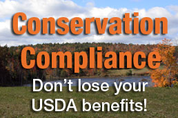 Conservation Compliance Do not lose your USDA benefits