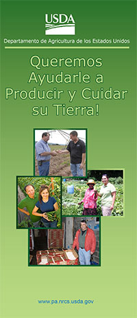 Let Us Help You Help the Land Brochure - Spanish Version