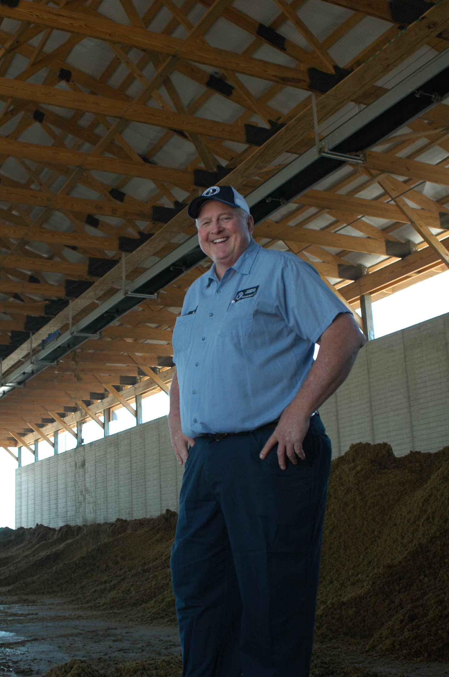 Ohio farmer Dan Andreas strives to improve the water quality in his watershed.