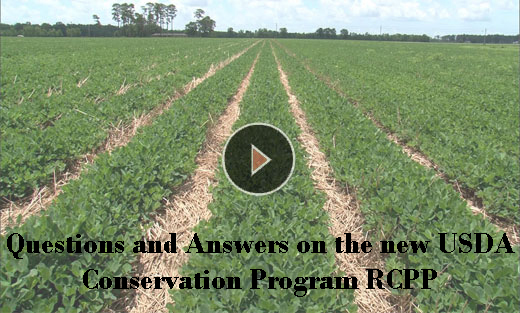 Questions and Answers on the new USDA Conservation Program RCPP