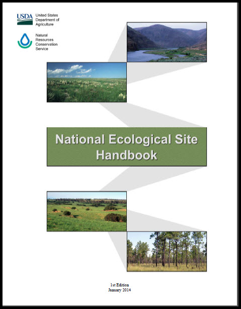 National Ecological Site Handbook