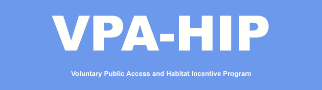 click for information on voluntary public access and habitat incentive program
