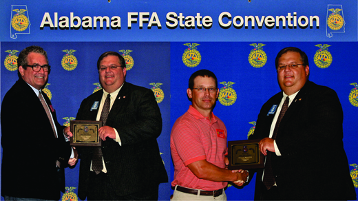 Manning and Musser Received FFA Honor
