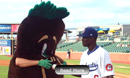 Chattanooga Lookouts Welcome Sammy Soil During Agriculture Night