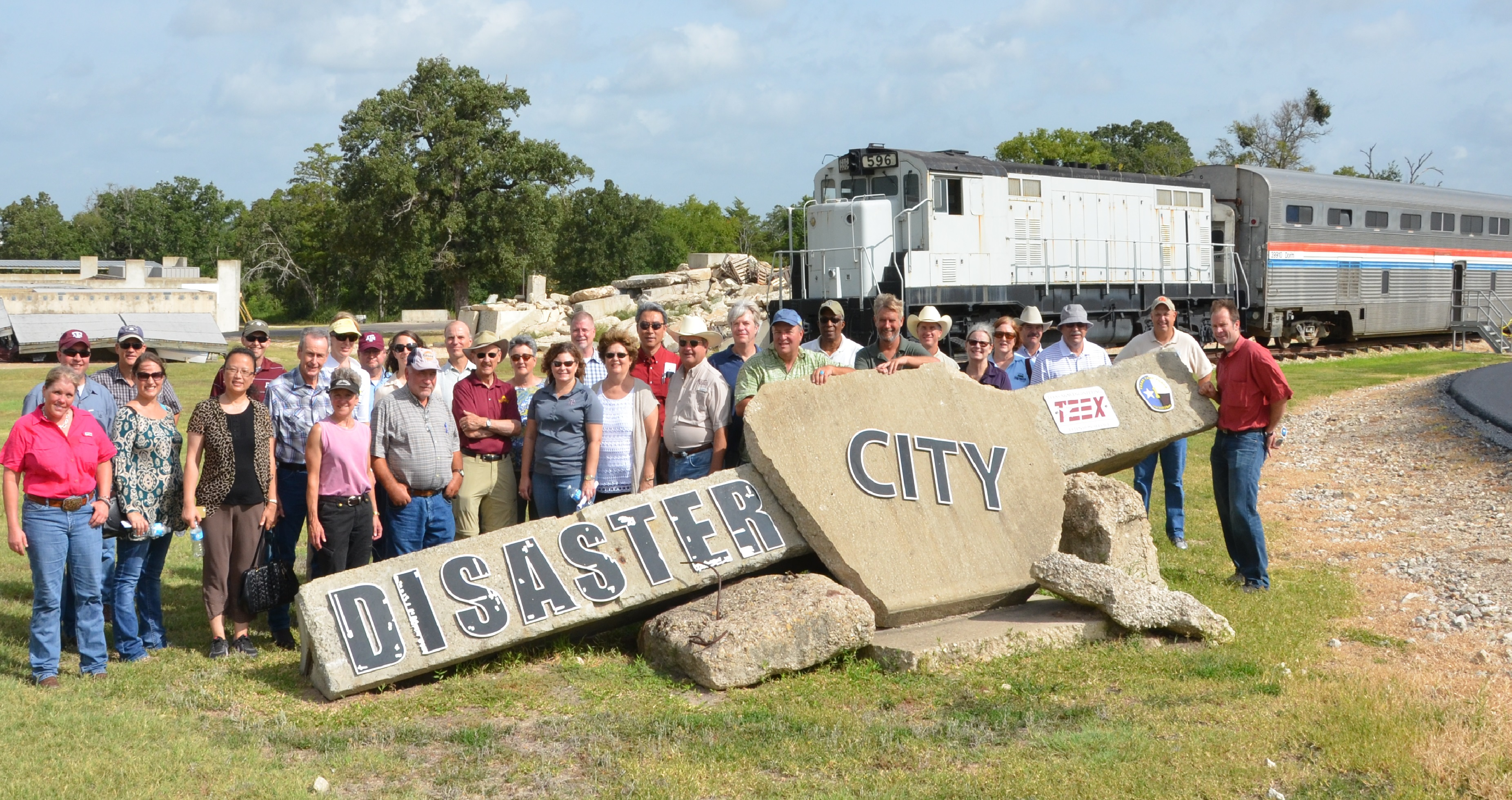 AAQTF visits Disaster City