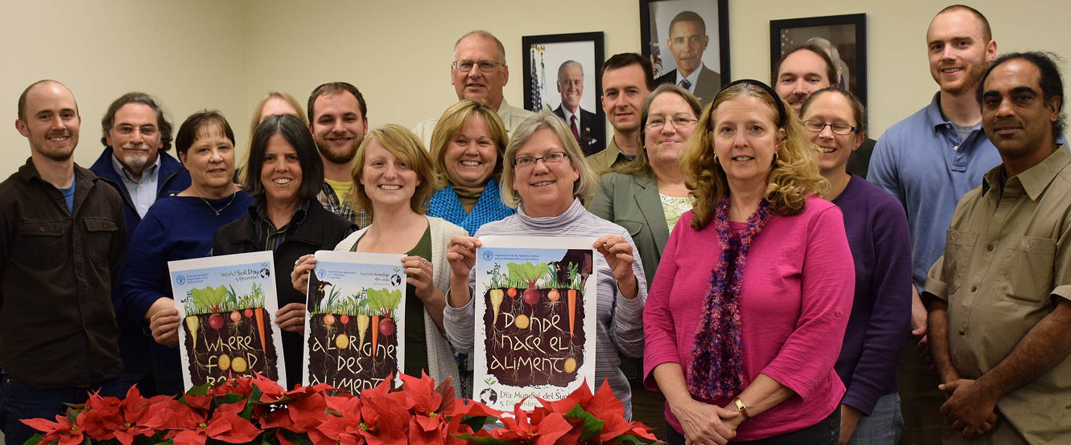 Connecticut NRCS staff celebrates World Soil Day