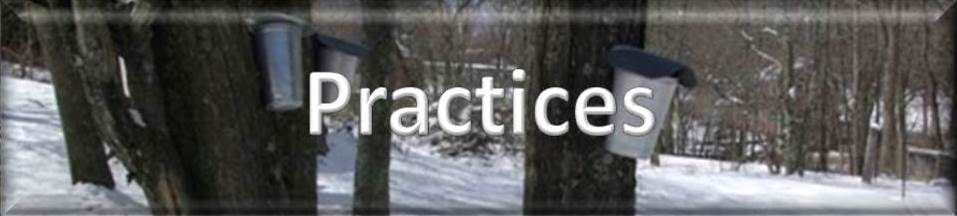 Click for List of Practices