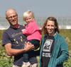 Melissa and Andy Dunham own and operate Grinnell Heritage Farm in Grinnell, Iowa.