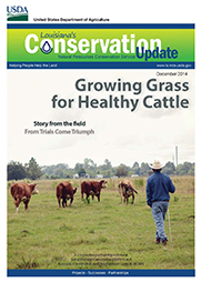 December 2014 Conservation Update Cover