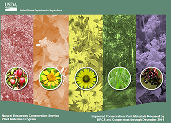 Cover image of Improved Conservation Plant Materials Released by NRCS and Cooperators through 2014