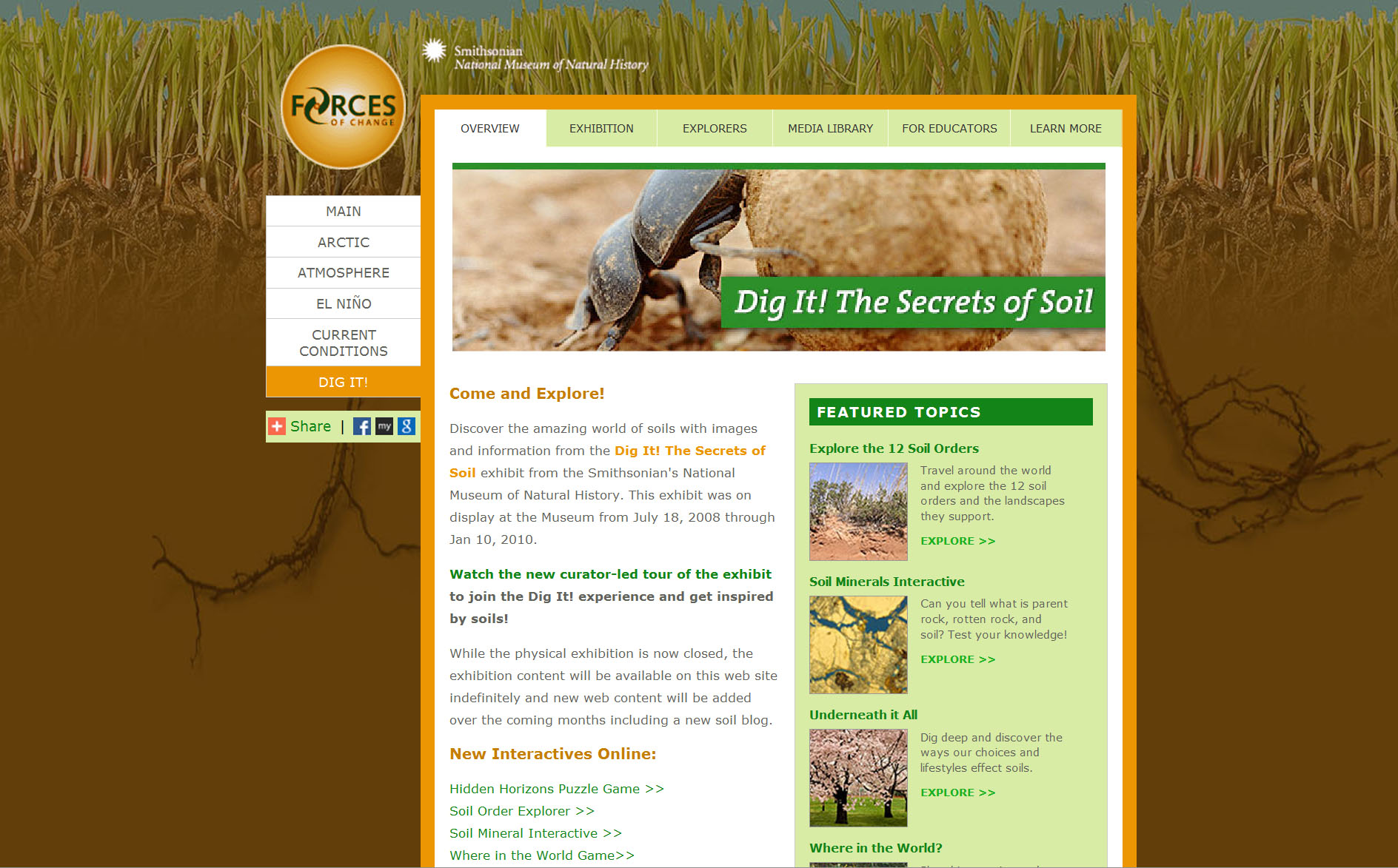 Secrets of Soil